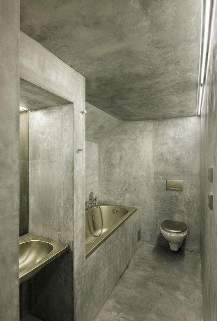 łazienka Toaleta Bez Płytek Minimum Płytek Archiwum